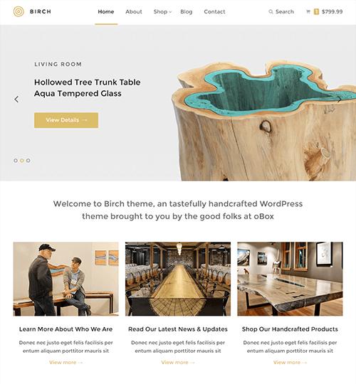 Garland TX Professional Web Design – Birch