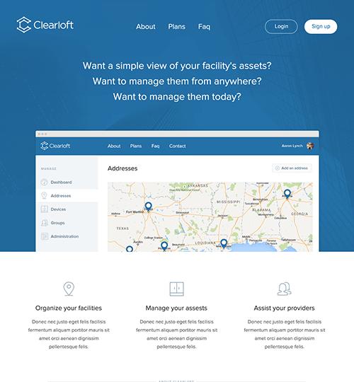 Garland TX Professional Web Design – Clearloft