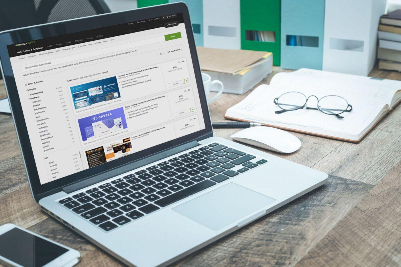 Premium WordPress Theme Professional Template Tyler TX