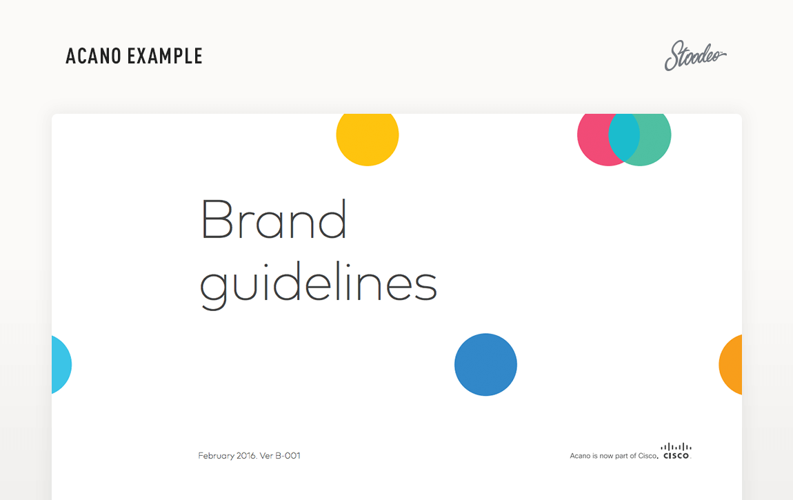Brand Guideline Style Guide Tyler TX Acano