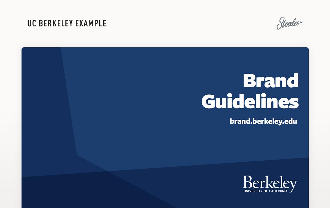 Brand Guideline Style Guide Tyler TX Berkeley
