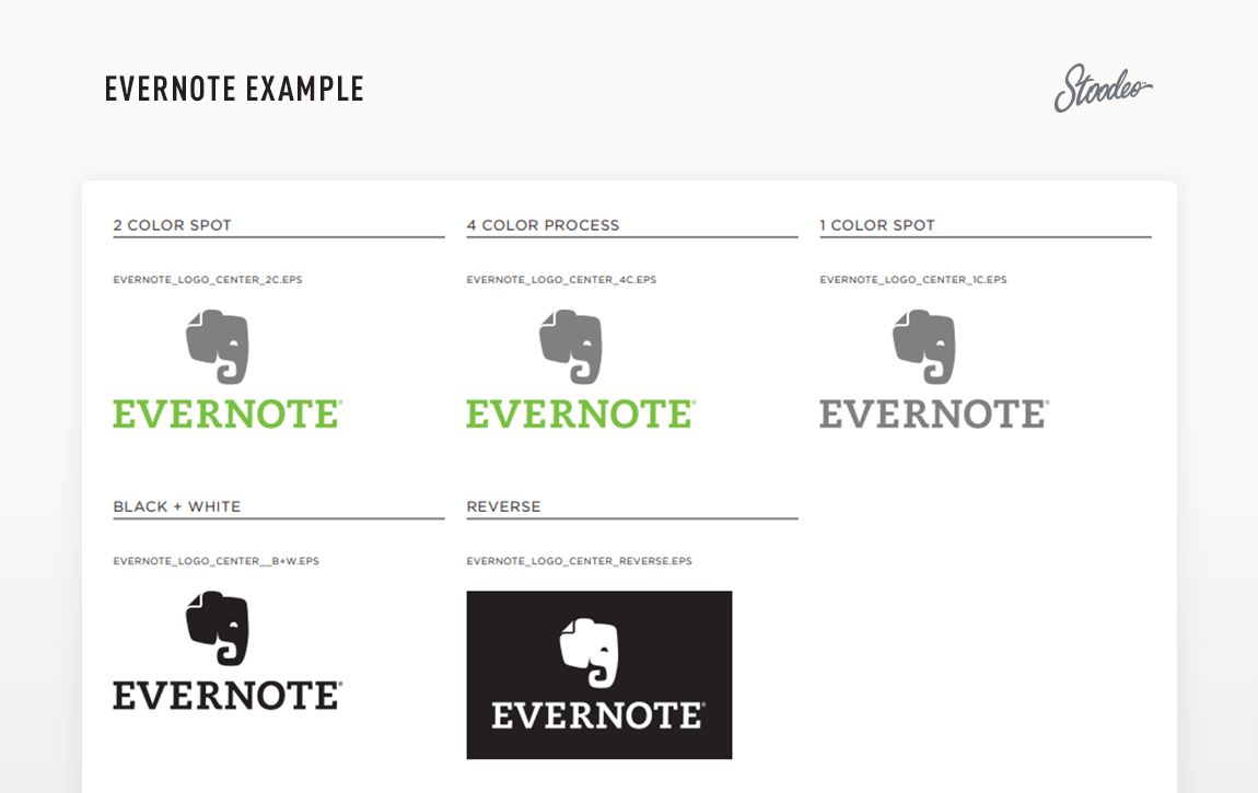 Brand Guideline Style Guide Tyler TX Evernote