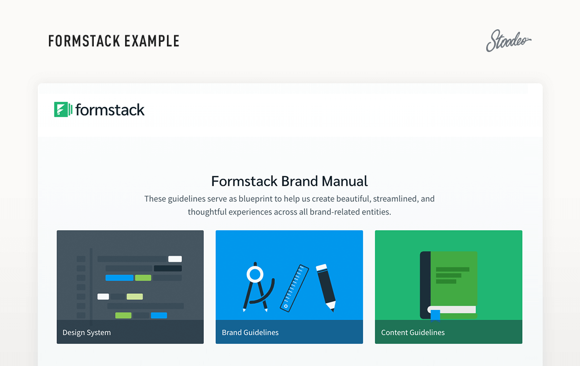 Brand Guideline Style Guide Tyler TX Formstack