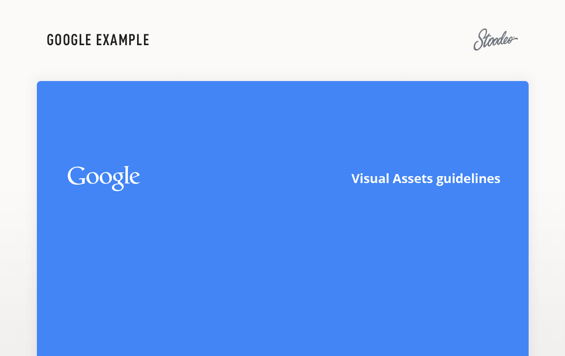 Brand Guideline Style Guide Tyler TX Google