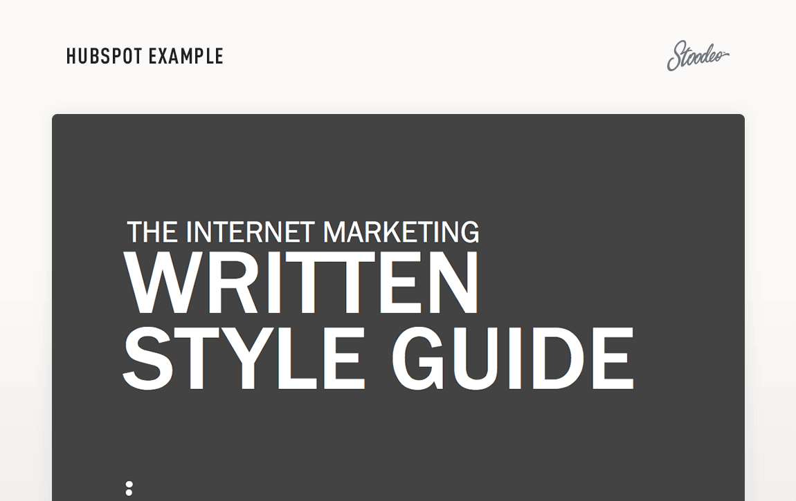 Brand Guideline Style Guide Tyler TX HubSpot