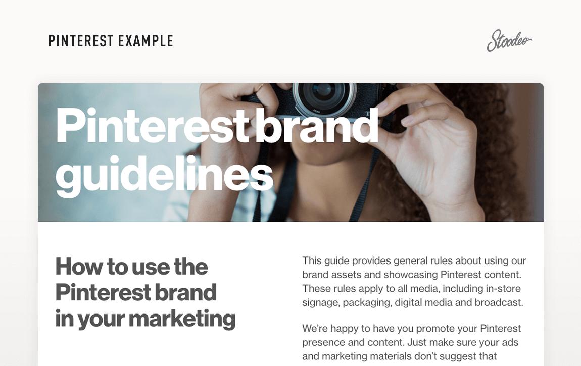 Brand Guideline Style Guide Tyler TX Pinterest