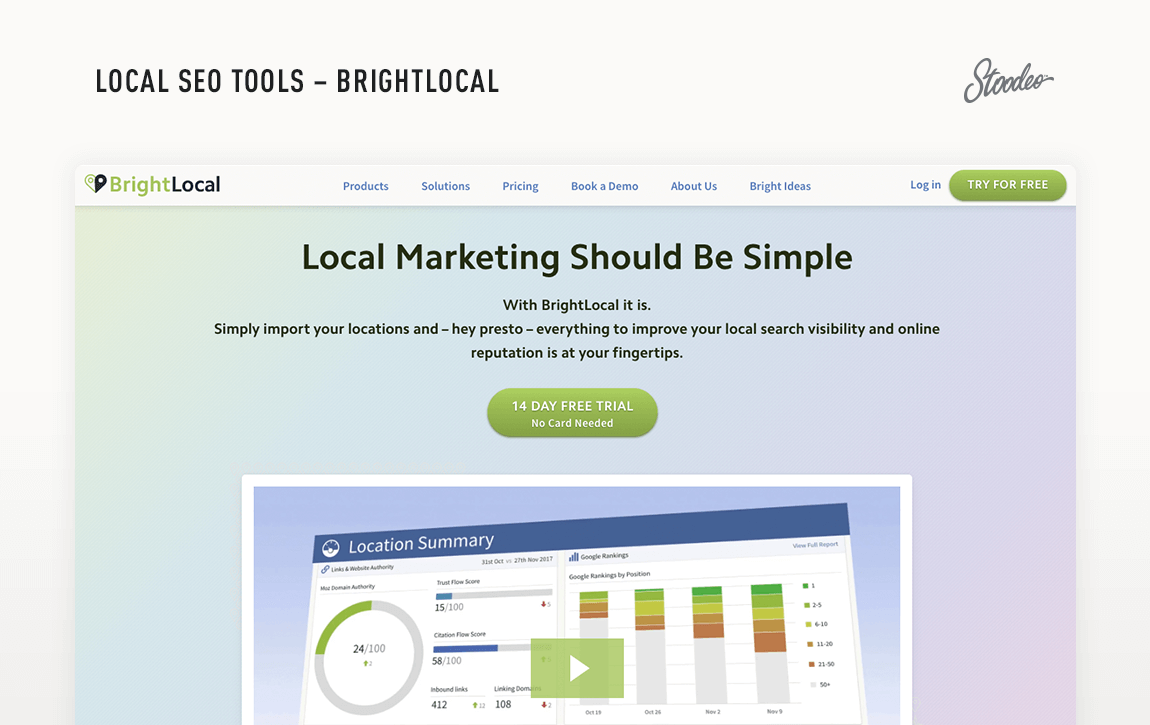 Local SEO Tools Brightlocal Tyler TX