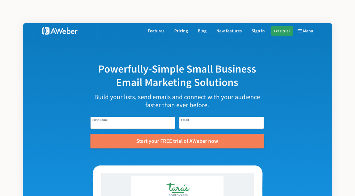 Email Marketing AWeber Tyler TX